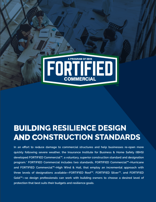 FORTIFIED Commercial factsheet cover