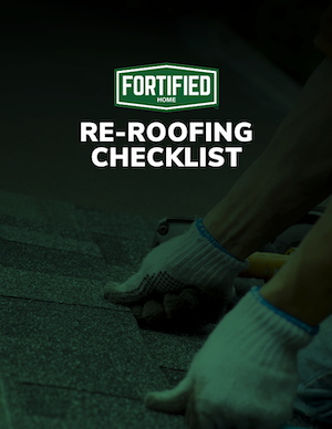 Fortified Re Roofing Checklist 5 2019