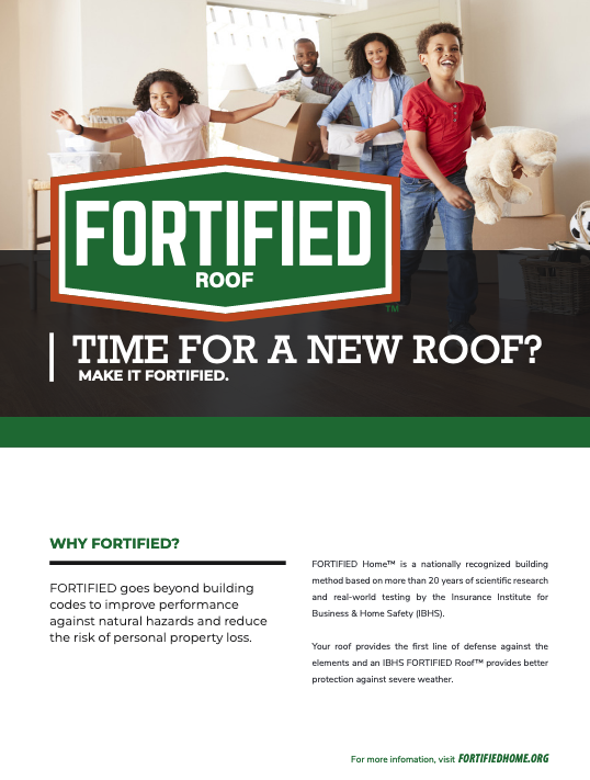 FORTIFIED Roof Fact Sheet