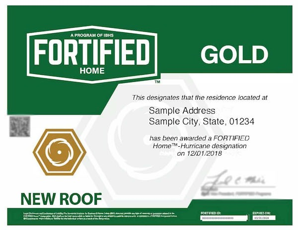 Ibhs Fortified Gold Designation Certificate Example 4 2019 Web