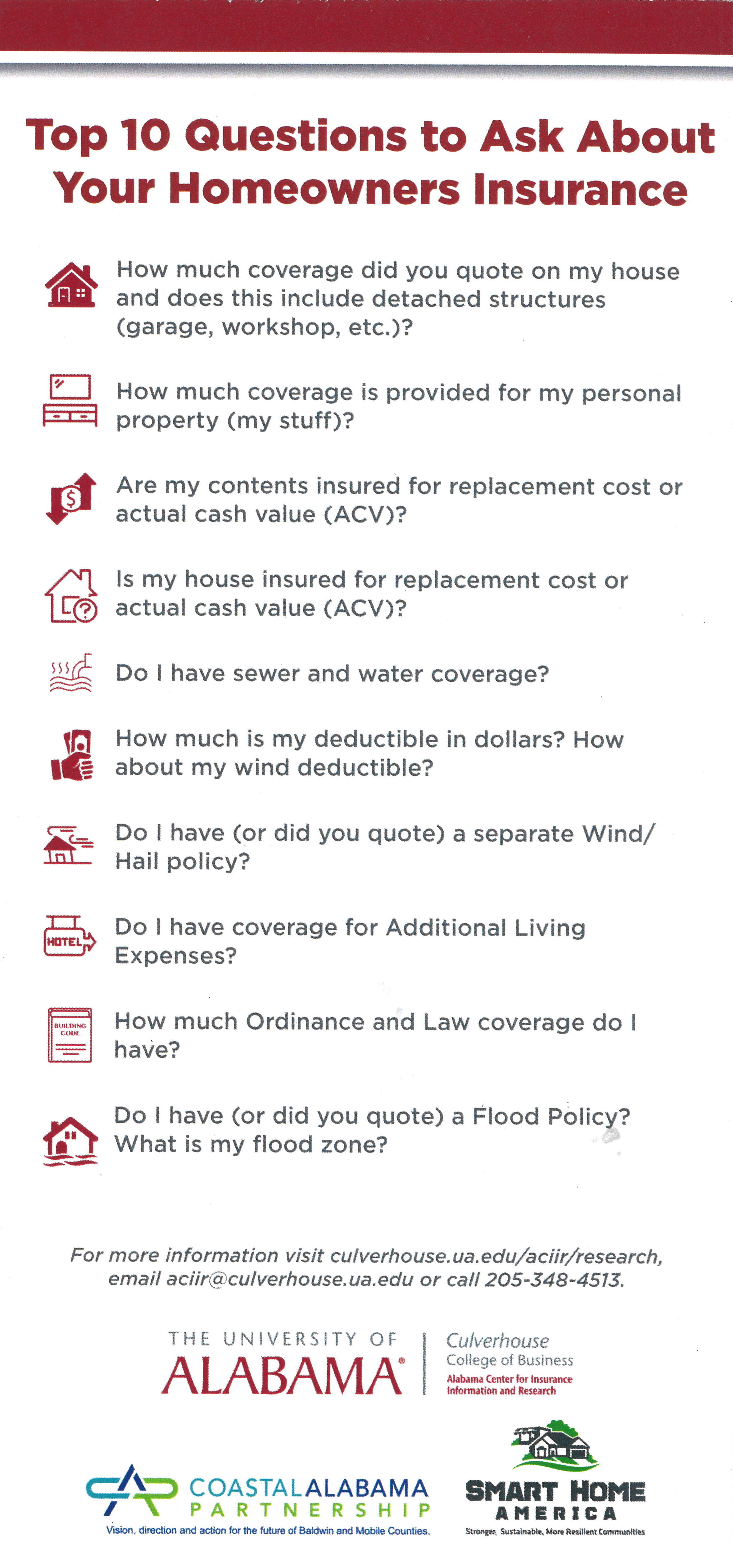 Top 10 Question to Ask you Insurance Agent Homeonwers Inusrance