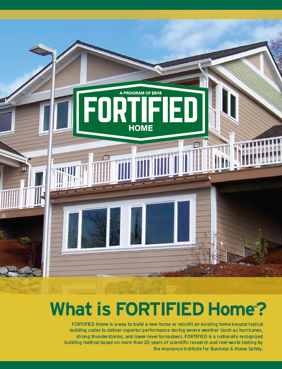 What is FORTIFIED Home?