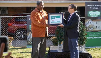 IBHS Awards 15,000th FORTIFIED Resiliency Designation to Alabama Home