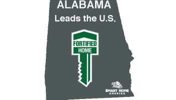Alabama Leads the Nation with Largest Number of FORTIFIED Homes