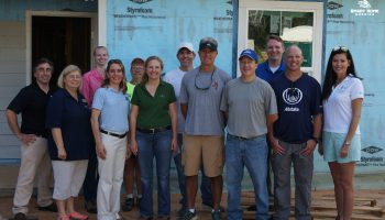 Volunteers Learn About FORTIFIED Construction with Habitat for Humanity