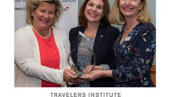 Smart Home America Awarded Travelers Excellence in Community Resilience Award.