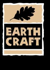 Logo earth craft house